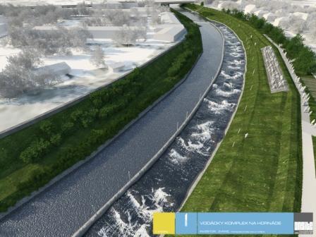 Vizualizácia vodáckeho komplexu